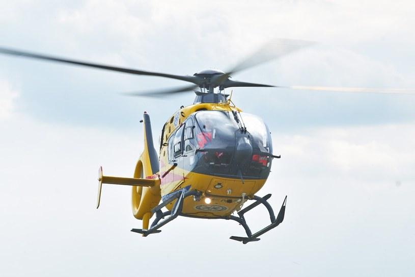 Dziewczynkę przetransportowano helikopterem LPR /LUKASZ SZELAG/REPORTER /East News