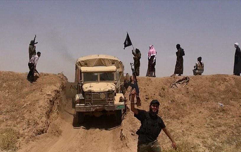 Dżihadyści z Państwa Islamskiego, zdjęcie ilustracyjne /AFP