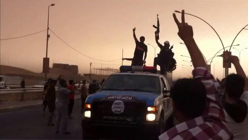 Dżihadyści z samozwańczego Państwa Islamskiego /AFP