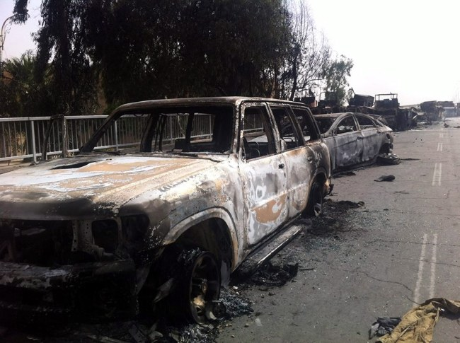 Dżihadyści zajęli Mosul, drugie co do wielkości miasto w kraju /MOHAMMED AL-MOSULI /PAP/EPA