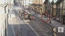 Dzik pędził ulicami Pragi!