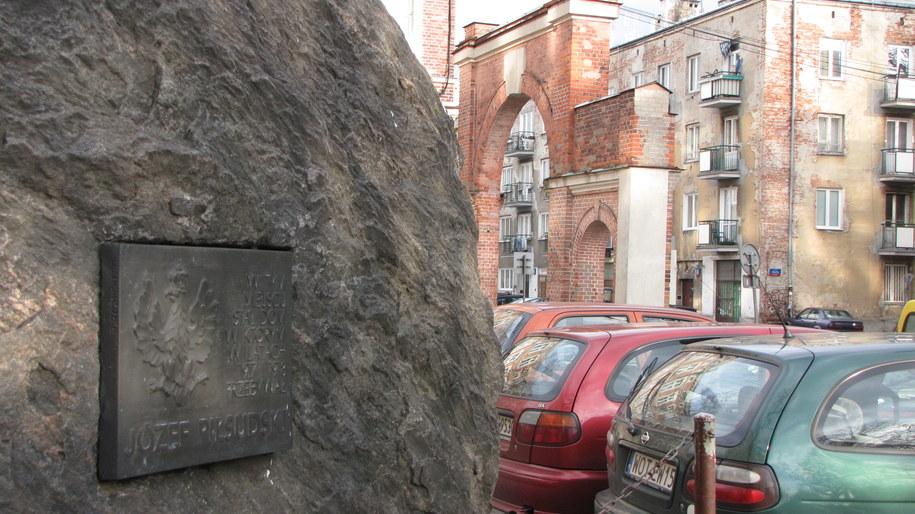 Dziś budynku, gdzie Piłsudski po raz pierwszy zobaczył córkę, już nie ma  /Konrad Piasecki /RMF FM