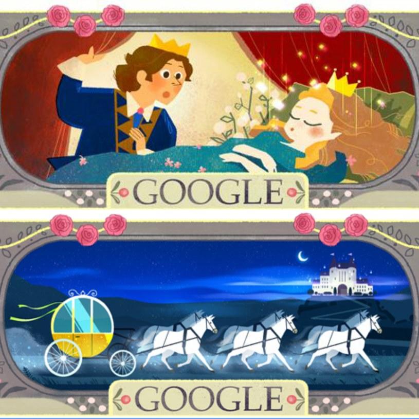 Dziś Google Doodle wspomina Charlesa Perraulta /