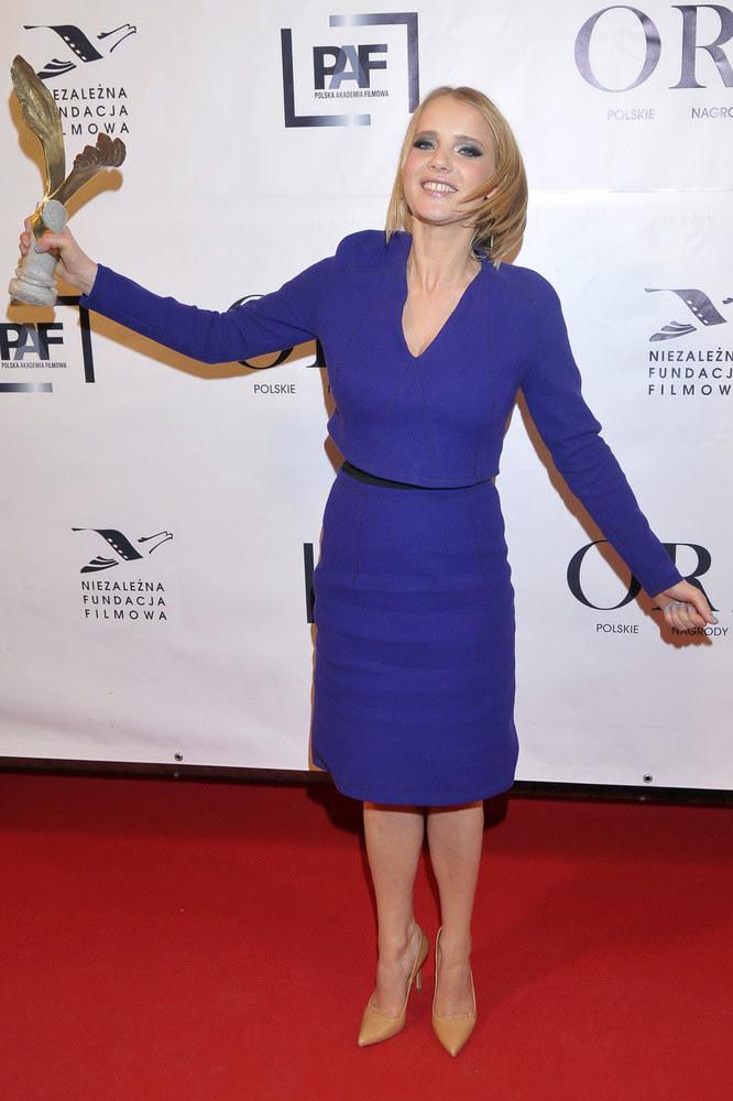 Dziś Joanna Kulig jest w tym punkcie swojej kariery, że może pracować z najlepszymi reżyserami /Kurnikowski /AKPA