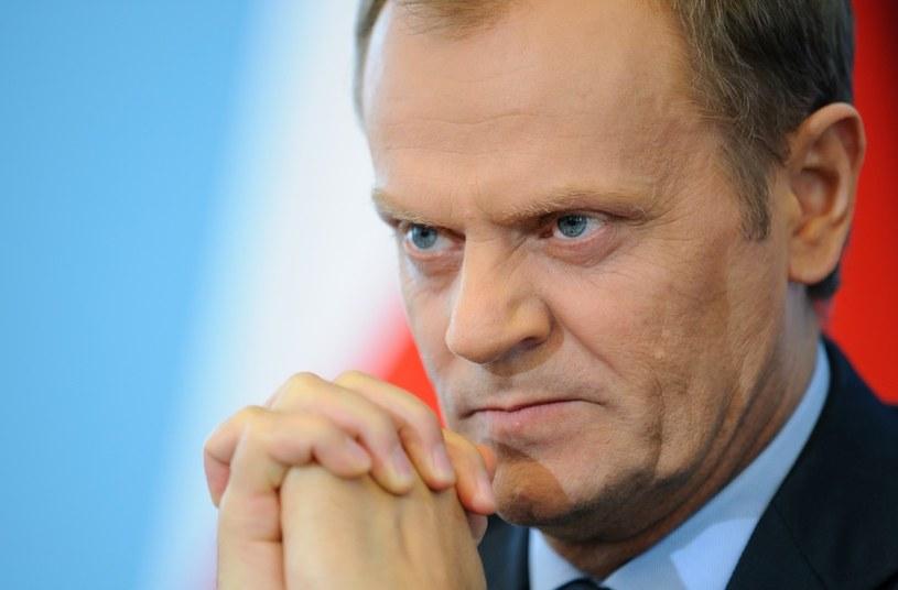 Dziś mija 10 lat, od kiedy Donald Tusk kieruje Platformą Obywatelską. /Rafal Oleksiewicz /Reporter