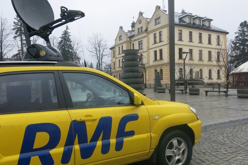 Dziś zawitaliśmy do Ustronia! /Józef Polewka /RMF FM