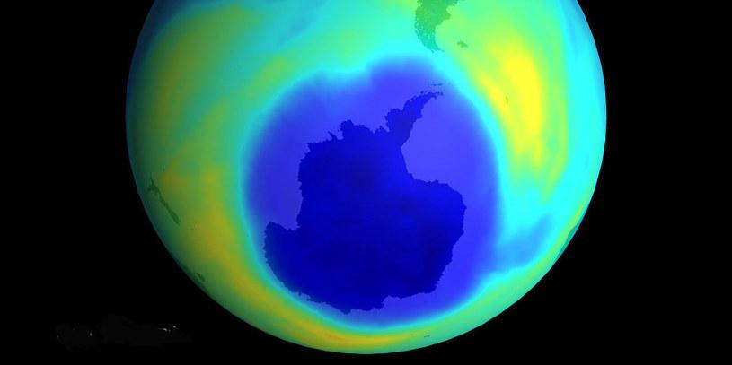 Dziura ozonowa jest coraz mniejsza /materiały prasowe