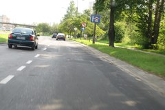 Dziurawe drogi w Lublinie