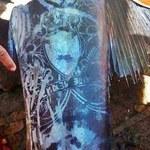 Dziwna ryba z tatuażami złowiona na Filipinach