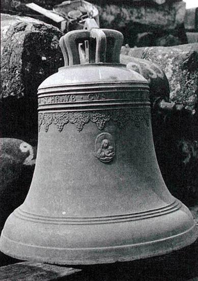 """Dzwon """"Maria"""" stanowi własność parafii p.w. św. Andrzeja Boboli w Czerwionce-Leszczynach /Wydział Strat Wojennych MKiDN"""