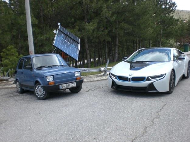 E-Bis i BMW i8 /