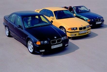 E36 sedan, coupe i cabrio /