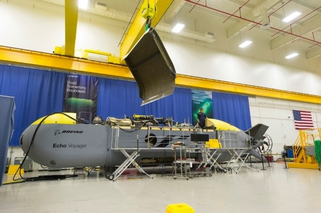 Echo Voyager.  Fot. Boeing /materiały prasowe