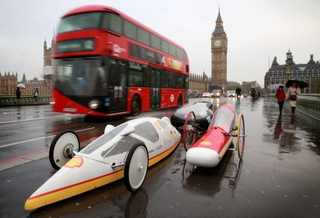 Eco-marathon tym razem w Londynie /materiały prasowe
