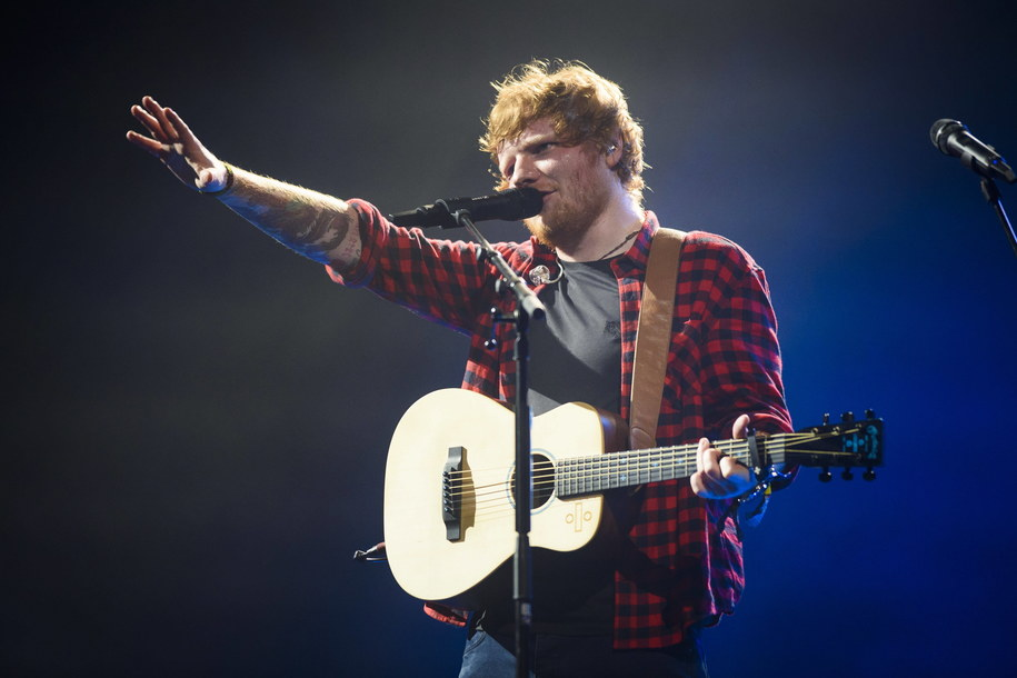 Ed Sheeran /	Matt Crossick /PAP/EPA