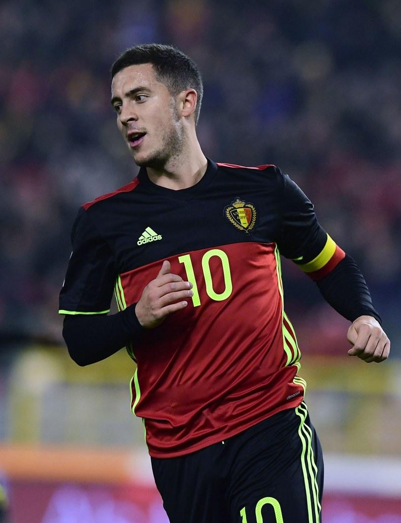 Eden Hazard, reprezentant Belgii /AFP