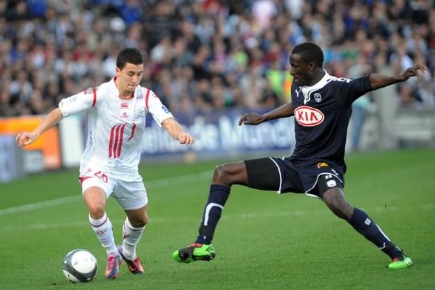 Eden Hazard (z lewej) to brylant w składzie Lille /AFP