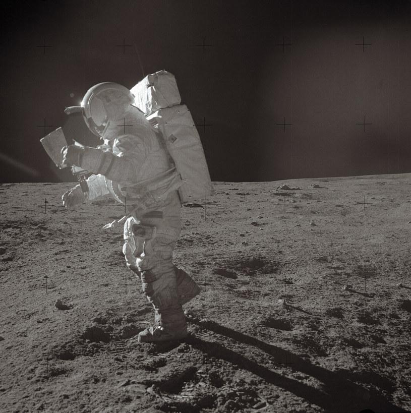 Edgar Mitchell był członkiem misji Apollo 14 /AFP