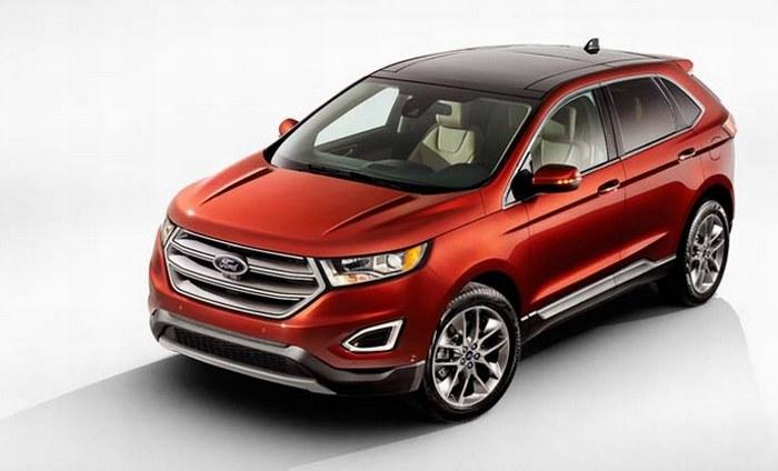 EDGE - nowa generacja SUV-ów Forda /INTERIA.PL/informacje prasowe