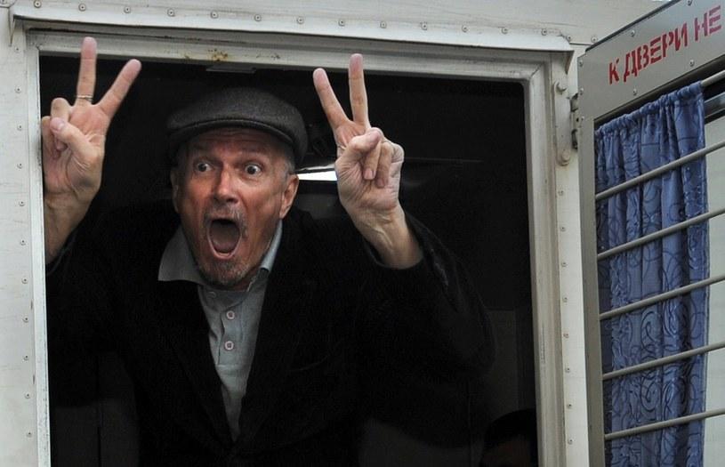 Eduard Limonow aresztowany przez policję /AFP