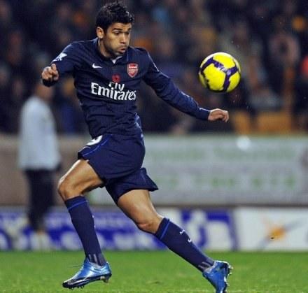 Eduardo podpisał nowy, długoterminowy kontrakt z Arsenalem. /AFP