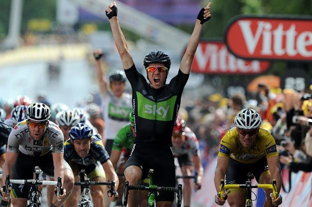Edvald Boasson Hagen triumfuje w w Lisieux /AFP