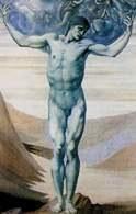 Edward Coley Burne-Jones, Skamieniały Atlas, fragment /Encyklopedia Internautica