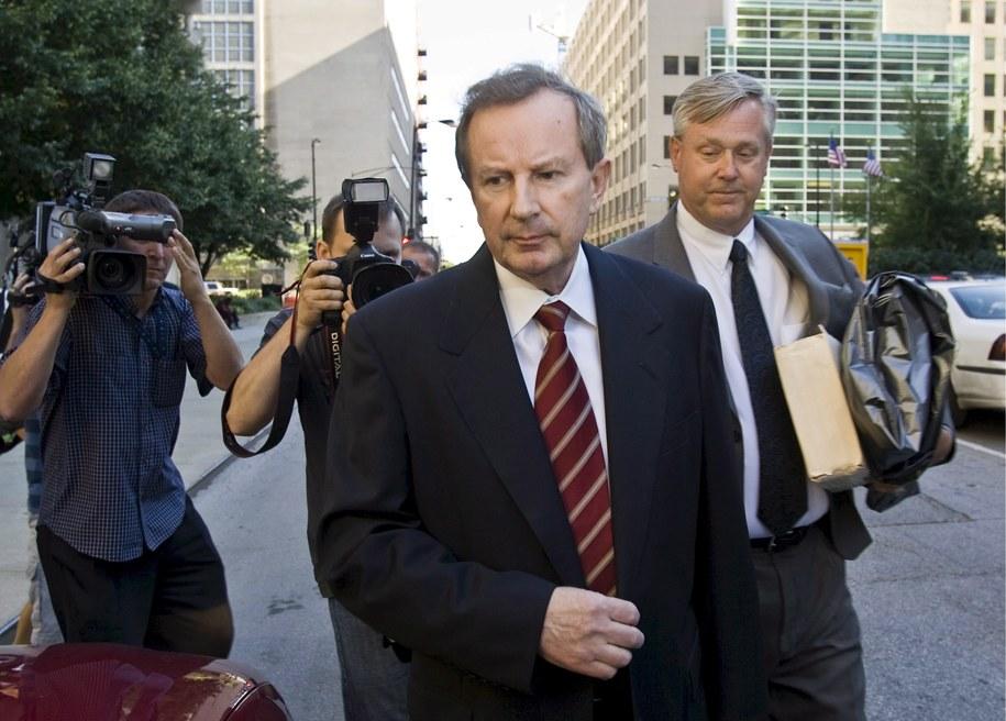Edward Mazur, zdjęcie z lipca 2007 roku /TANNEN MAURY  /PAP/EPA