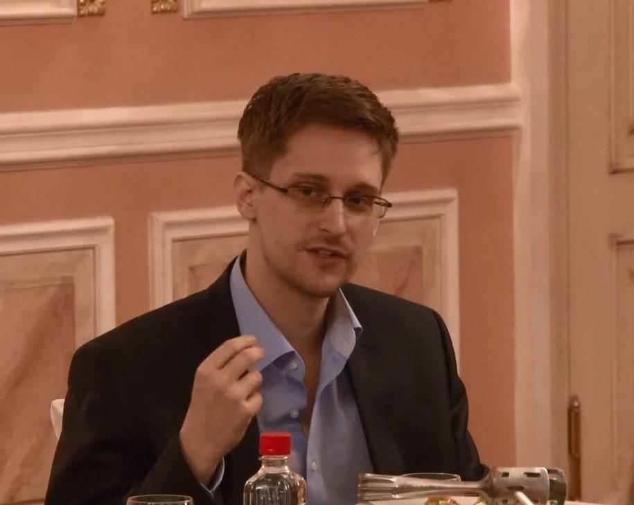 Edward Snowden /HO /PAP/EPA
