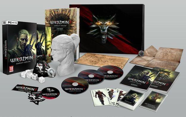 Edycja Kolekcjonerska gry Wiedźmin 2: Zabójcy Królów i jej zawartość /Informacja prasowa
