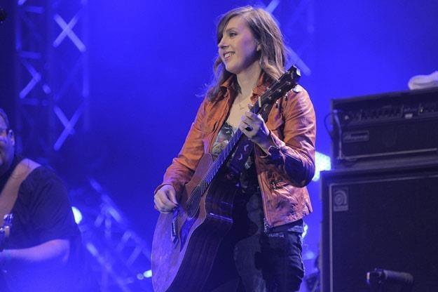 Edyta Bartosiewicz podczas festiwalu Orange Warsaw w 2010 roku /AKPA