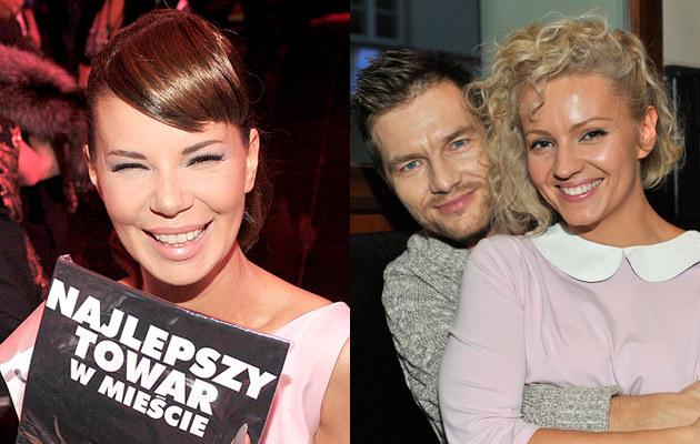 Edyta Górniak, Adam Sztaba, Dorota Szelągowska /Kurnikowski, Niemiec /AKPA