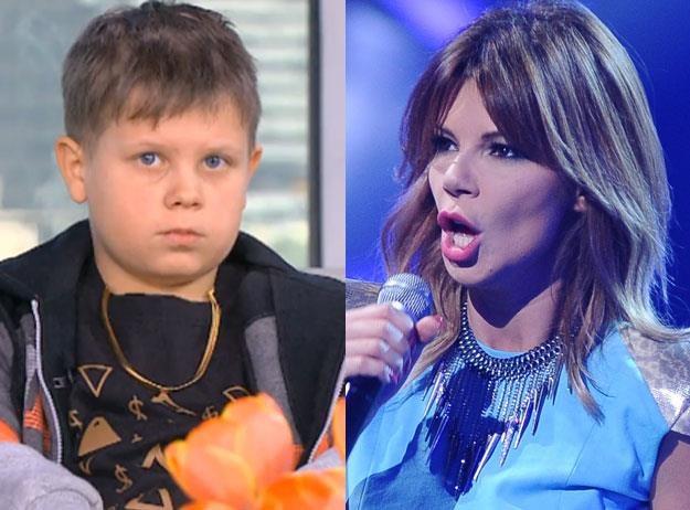 """Edyta Górniak (fot MW Media) o Xavierze (fot. TVN) : """"To nie jest żaden raper"""" /"""