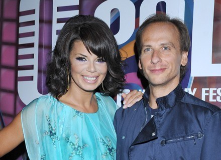 Edyta Górniak i Dariusz Krupa fot. Andras Szilagyi /MWMedia