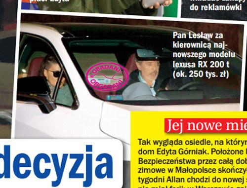 Edyta i Lesław /Życie na gorąco