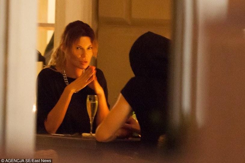 Edyta lubi spotykać się na kolacjach z muzykami! Na zdjęciu z Baronem /- /East News