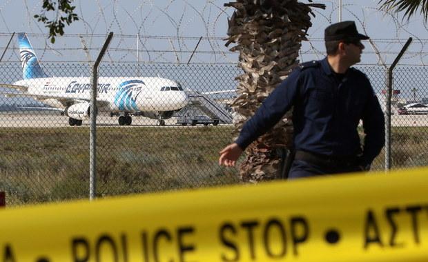 Egipski samolot pasażerski uprowadzony. Porywacz poddał się po kilku godzinach
