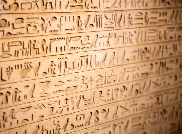 Egipskie hieroglify /123/RF PICSEL