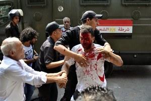 Egipt: 250 zabitych podczas likwidacji obozów zwolenników Mursiego