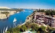 Egipt: Nil koło Asuanu /Encyklopedia Internautica