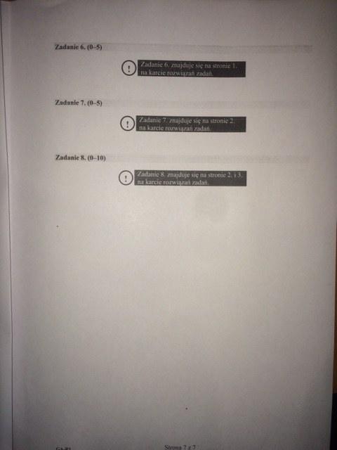 Egzamin gimnazjalny 2016. Język angielski - odpowiedzi (poziom poszerzony) /RMF FM