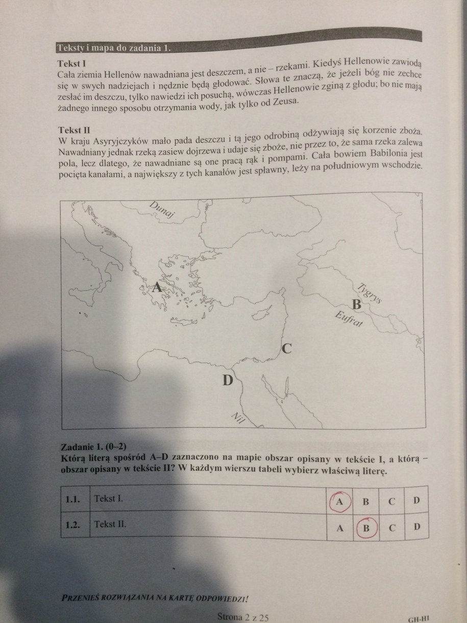 Egzamin gimnazjalny. Rozwiązania /RMF FM