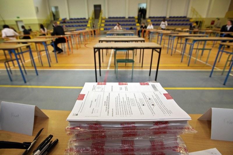 Egzamin gimnazjalny /Daniel Szysz /Reporter