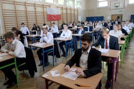Egzamin maturalny w warszawskim liceum