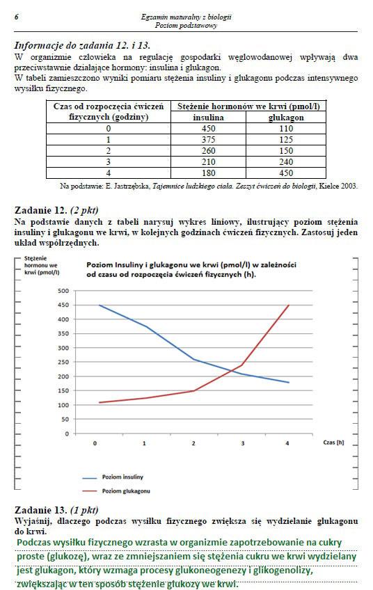 Egzamin maturalny z biologii - poziom podstawowy. Arkusz i odpowiedzi /INTERIA.PL