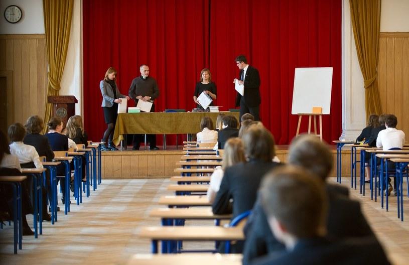 Egzamin maturalny /Bartosz Krupa /East News
