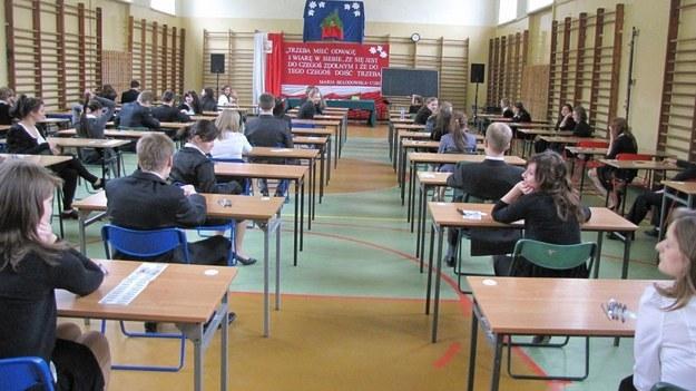 Egzamin maturalny /arch. RMF