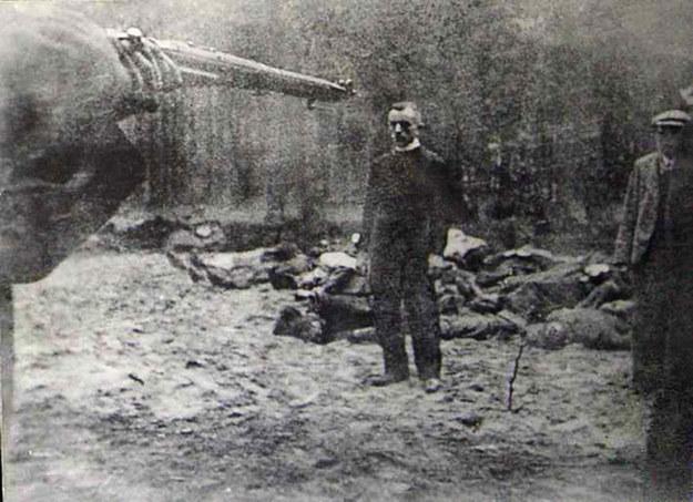 Egzekucja w Piaśnicy (fot. domena publiczna) /INTERIA.PL