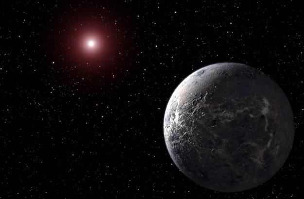 Egzoplaneta - wizualizacja. /NASA