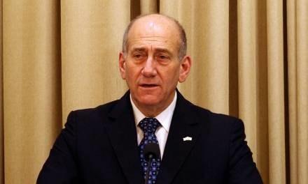 Ehud Olmert /AFP